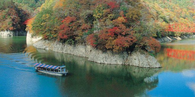 La bellezza della valle di Taishaku-kyo