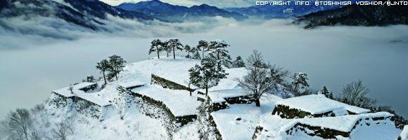 il-castello-di-takeda-in-inverno