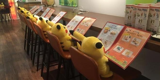 Colazione da Pikachu