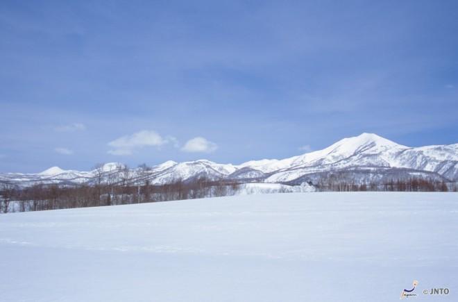 Neve sul monte Yotei