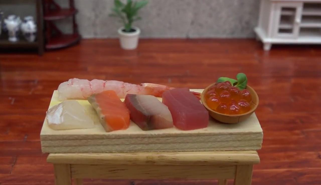 Cucina giapponese in miniatura