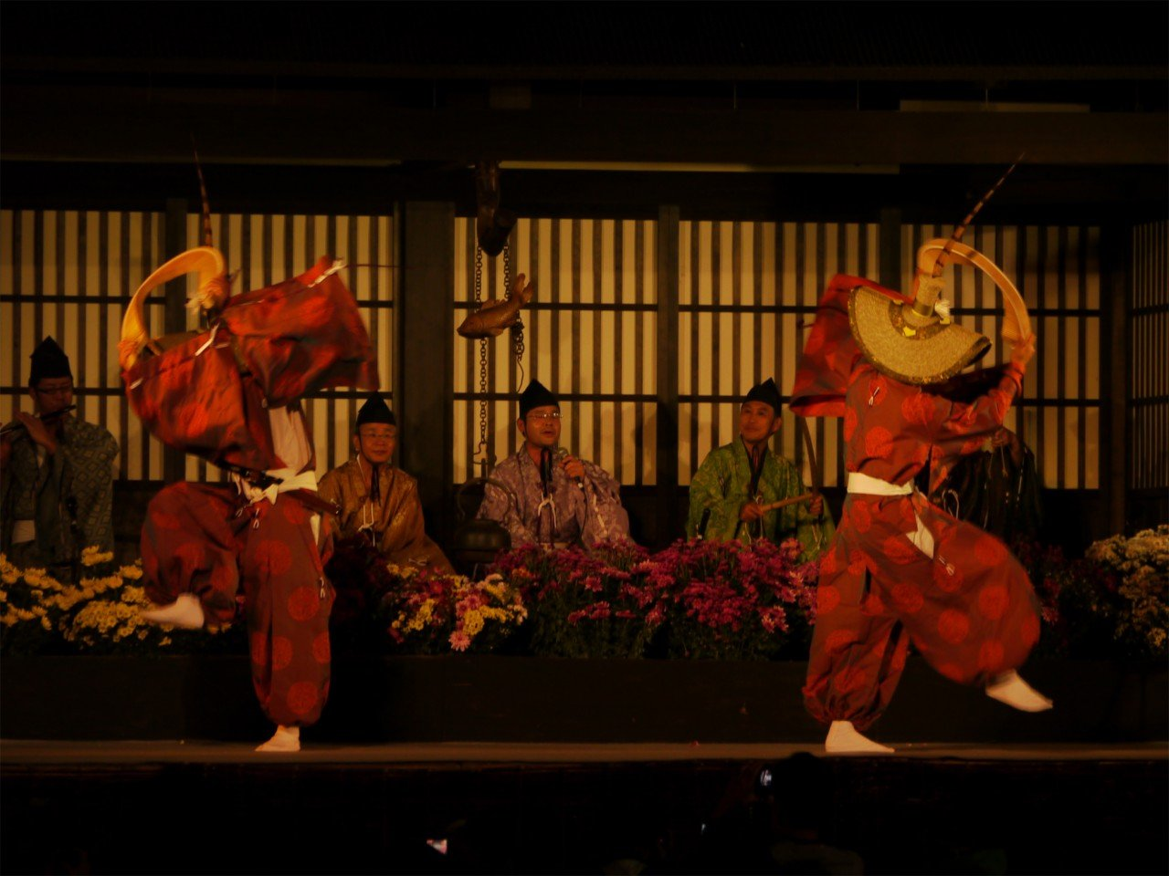 festival-gokayama-kokiriko
