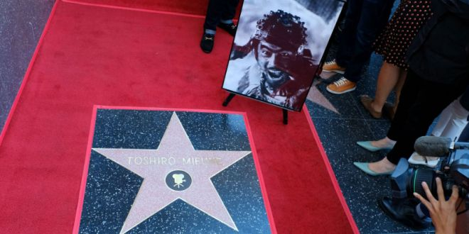 la-walk-of-fame-hollywood-onora-samurai-toshiro-mifune