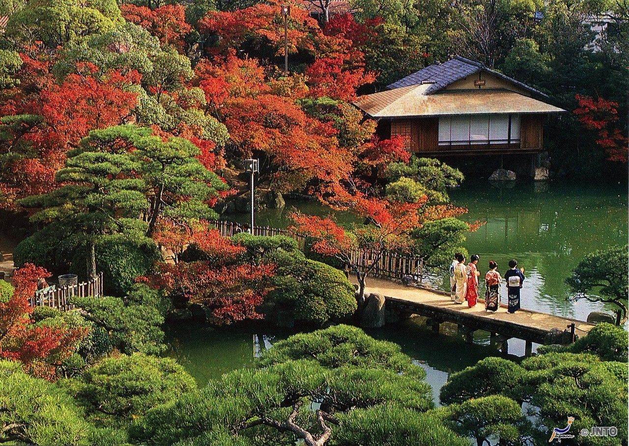 il giardino paesaggistico sorakuen