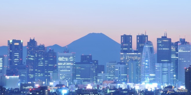 il-monte-fuji-e-la-tokyo-sky-line
