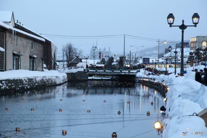 il-festival-otaru-snow-light-path
