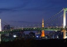 Il Rainbow Bridge di Tokyo
