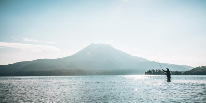 Il salmone del lago Akan