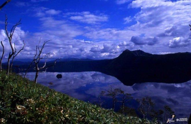 Il lago Mashu
