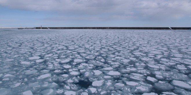 La drift ice di Monbetsu
