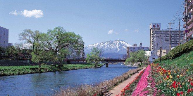 La riva di Kitakami