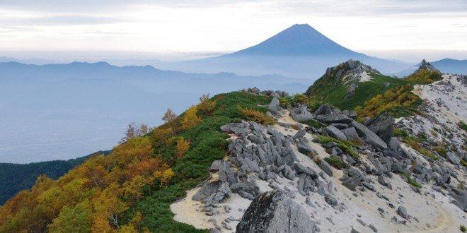Le montagne di Yamanashi