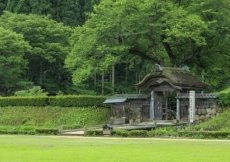 Le rovine storiche della famiglia Ichijodani Asakura