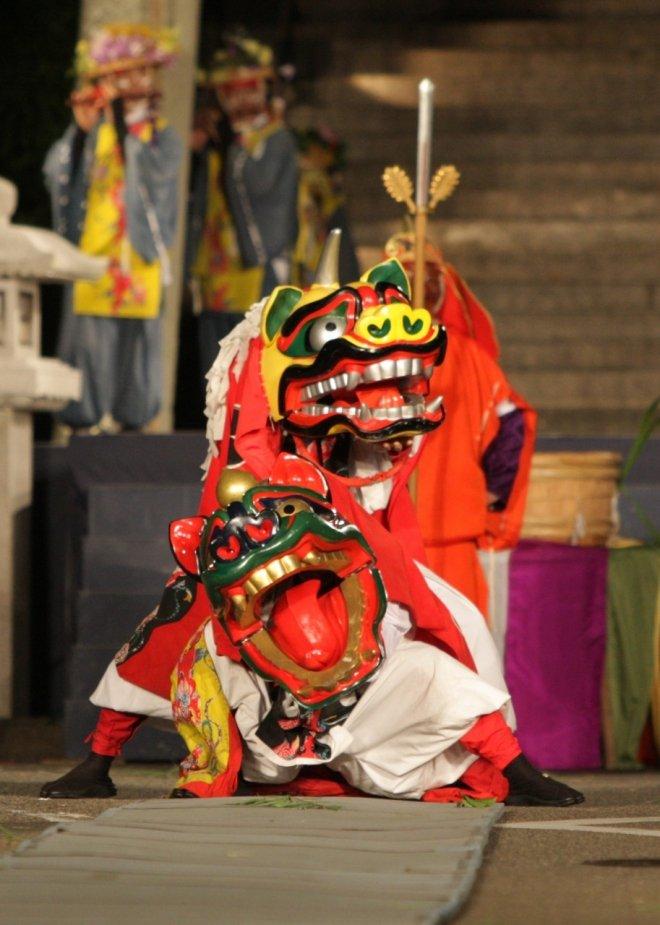 La danza secolare del Yamashiro Daidengaku