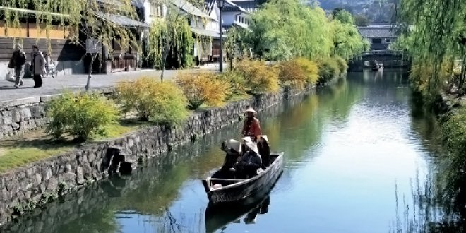 La bellezza antica di Kurashiki