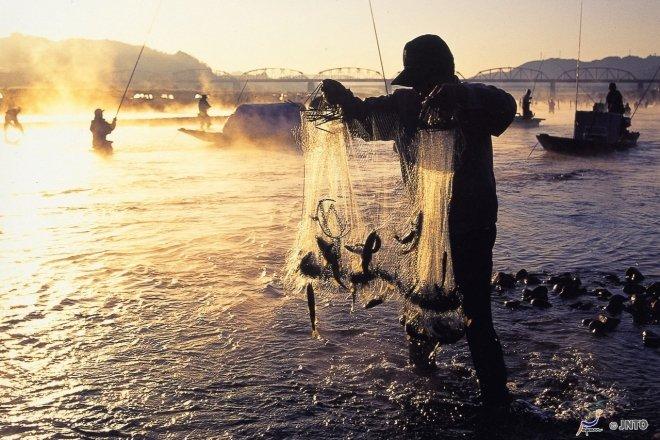 Il pescatore giapponese
