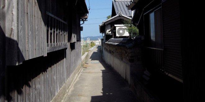 Uno scorcio all'isola di Teshima