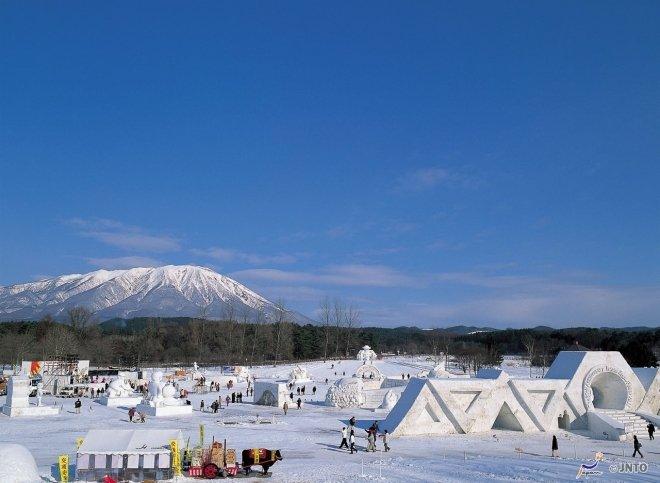Il Festival della neve di Iwate