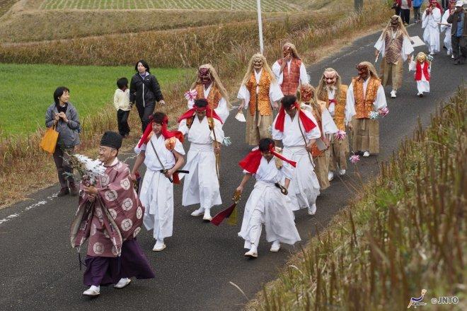 Il Festival Yokagura