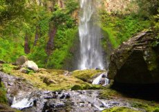 La cascata Shiiya